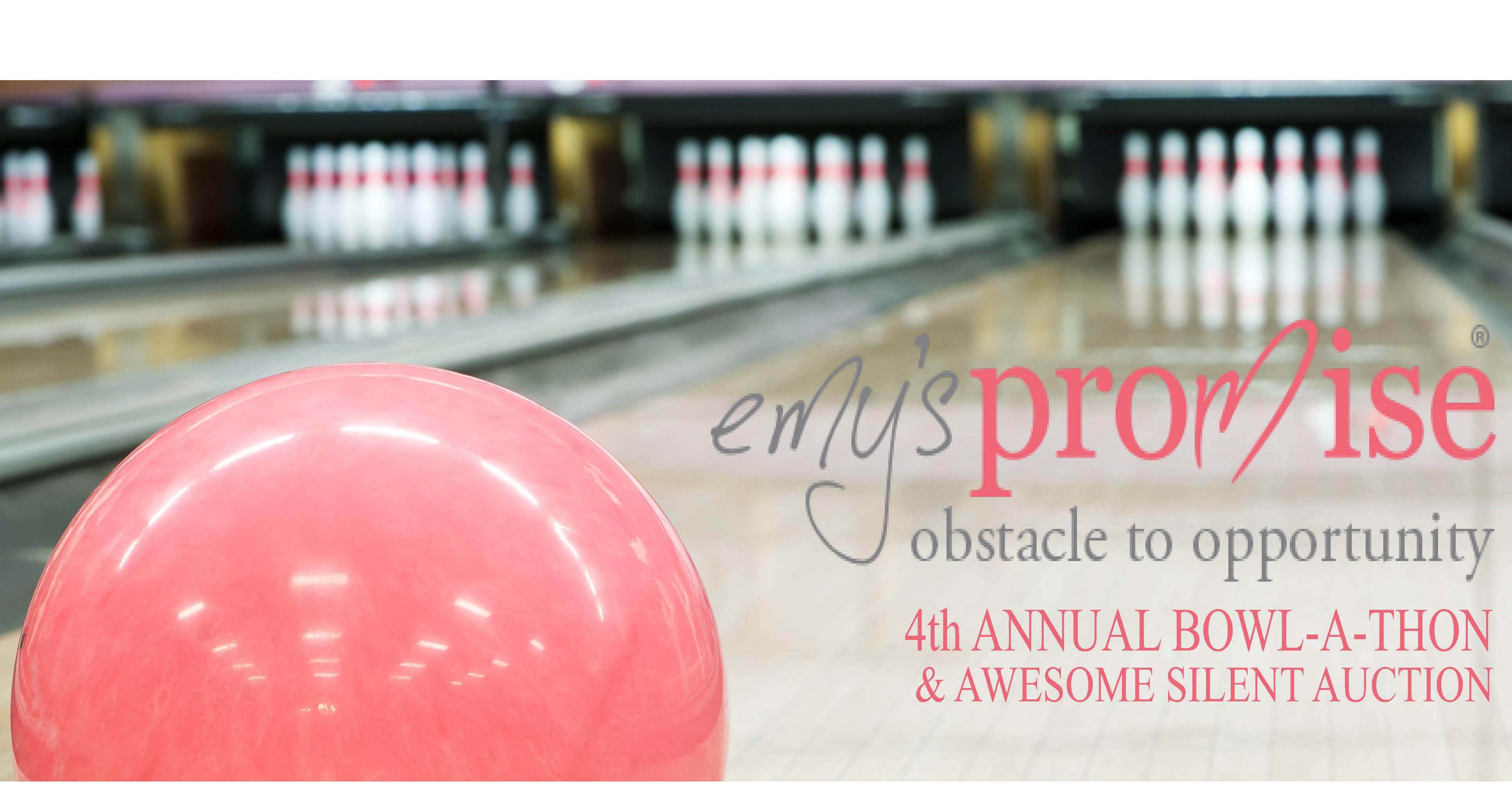 Register Now: 4th Annual Bowlathon